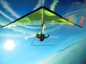Hang-gliding To Heaven
